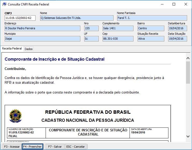 Como emitir a Nota Fiscal Eletrônica - NFe? consulta cnpj