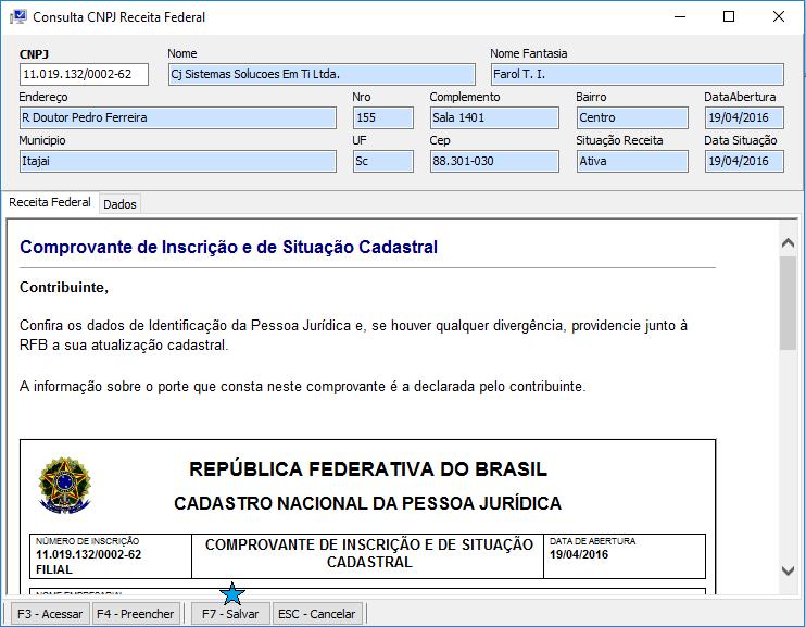 Como emitir a Nota Fiscal Eletrônica - NFe? consulta cnpj transportadora